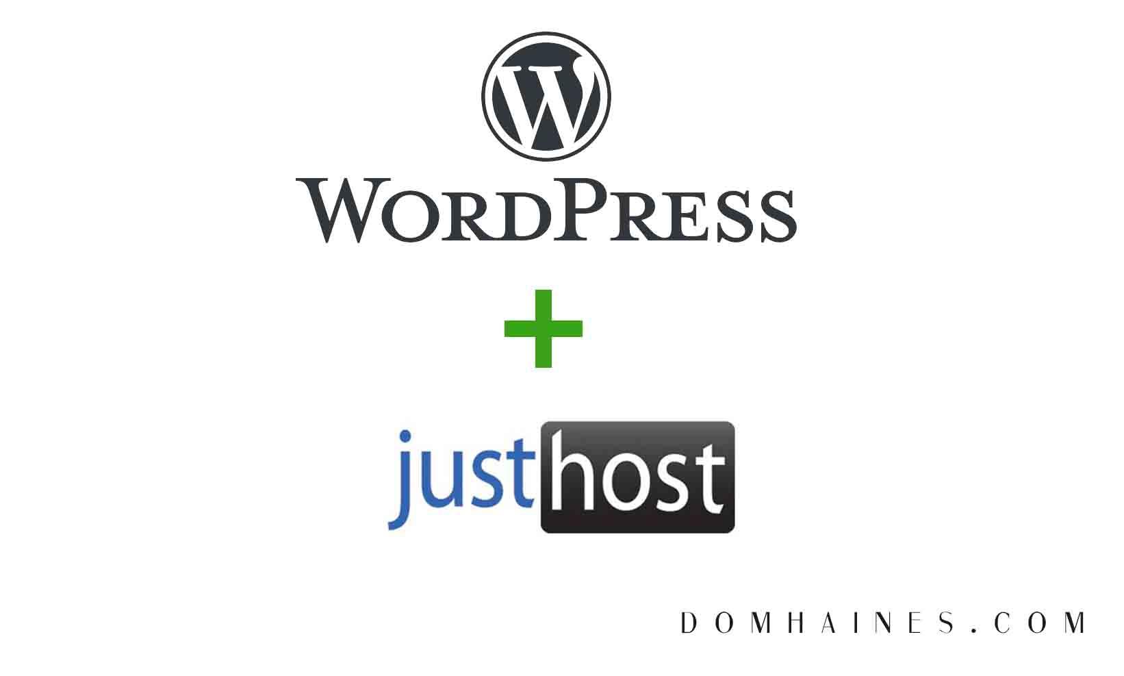 wordpress justhost