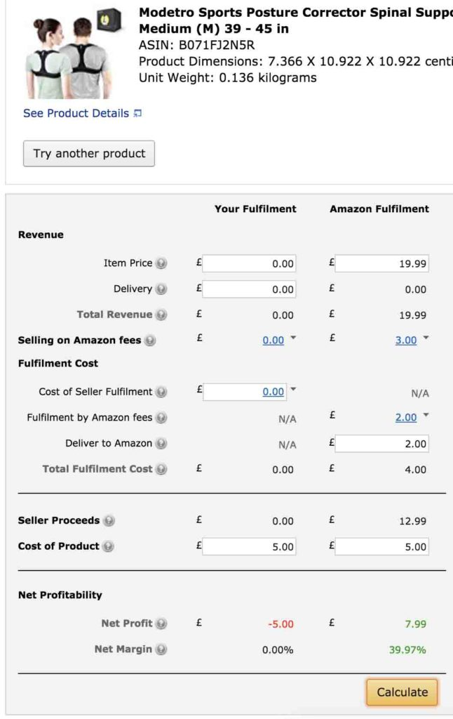 The Fundamental Of amazon fba fee calculator
