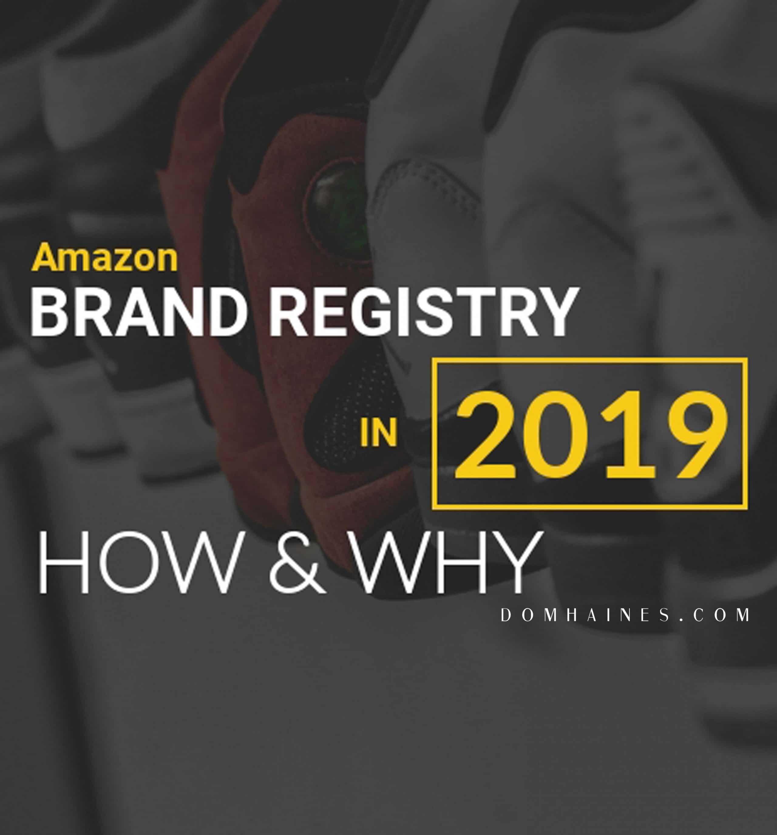 amazon brand registry application