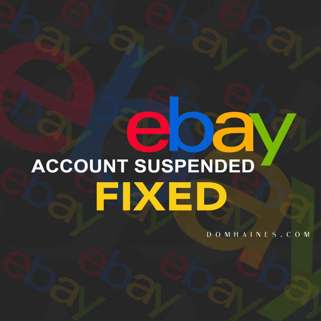 ebay suspended account