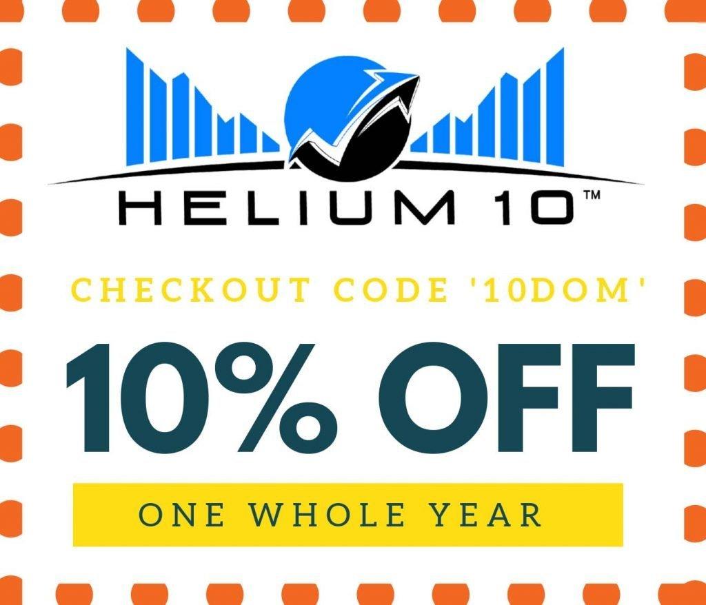 Helium10 discount coupon