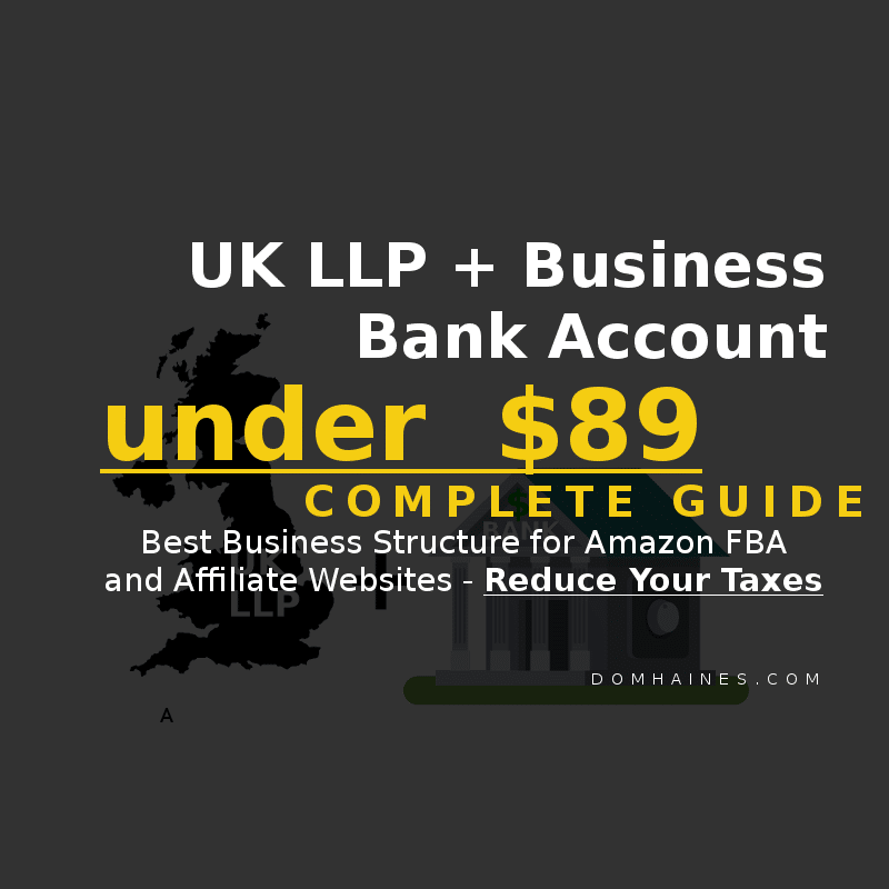 UK LLP business bank account
