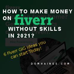 6 Fiverr gig ideas