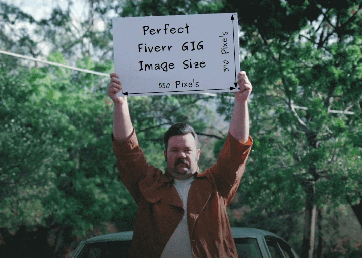 The Perfect Fiverr gig image size