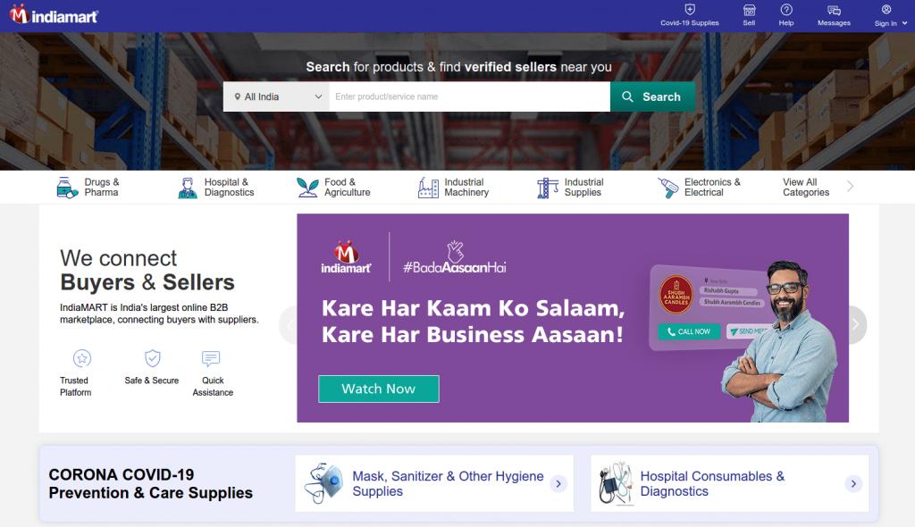 IndiaMart best Indian market Alibaba alternative
